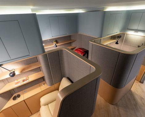 機艙式個人休憩區-台中牙齒美白推薦-朗日牙藝